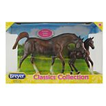 Breyer Classics Chestnut Arabian Horse and Foal Set