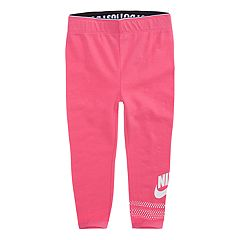 Toddler Girl Nike Pink Favorite Futura Logo Leggings