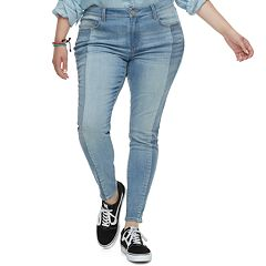 Juniors' Plus Size SO® Low-Rise Jeggings