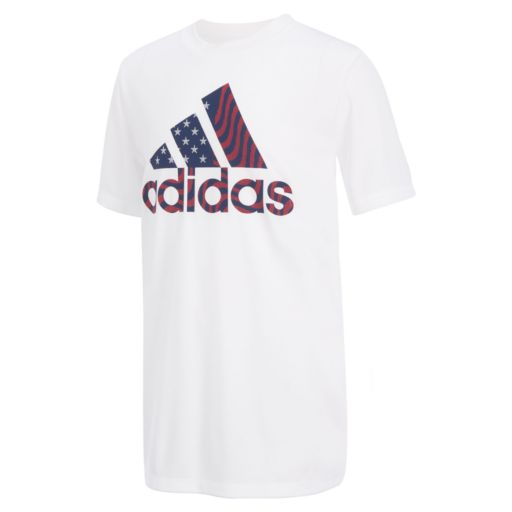 Boys 8-20 adidas Sporty Patriotic Graphic Tee