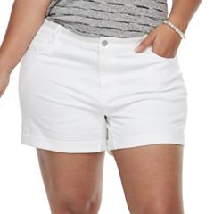 Plus Size Apt. 9® Denim Shorts