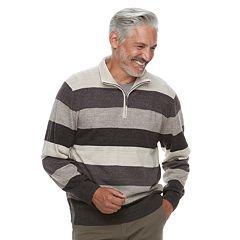 Men's Haggar Classic-Fit Fine-Gauge Quarter-Zip Sweater