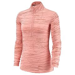 Women's Nike Victory Metallic Crackle Top