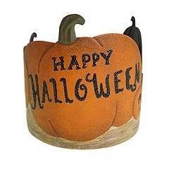 SONOMA Goods for Life™ Large Happy Halloween Candle Jar Holder