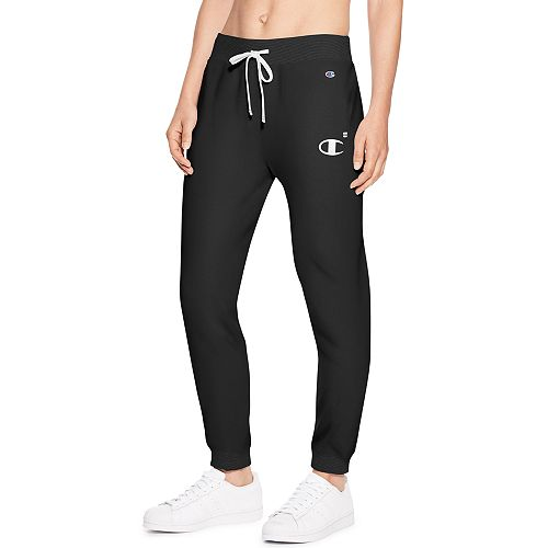 6407bcd071b663 Women's Champion Heritage French Terry Mid-Rise Jogger Sweatpants