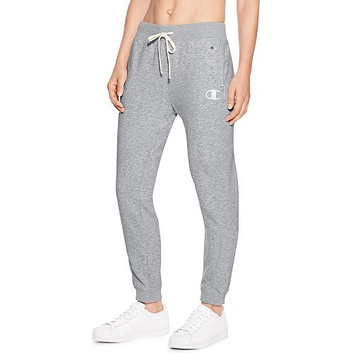 51751591a1 Women's Champion Heritage French Terry Mid-Rise Jogger Sweatpants