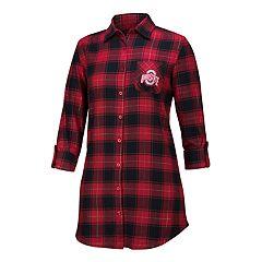 Women's Ohio State Buckeyes Flannel Shirt