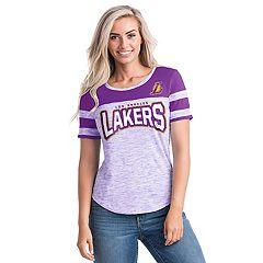 Women's Los Angeles Lakers Space-Dyed Tee