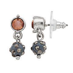 Simply Vera Vera Wang Beaded Drop Earrings