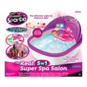 Cra-Z-Art Shimmer 'N Sparkle Crazy Lights The Real 5-in-1 Super Spa Salon
