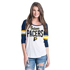 Women's Indiana Pacers Slub Jersey Striped Tee