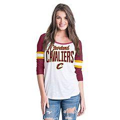 Women's Cleveland Cavaliers Slub Jersey Striped Tee