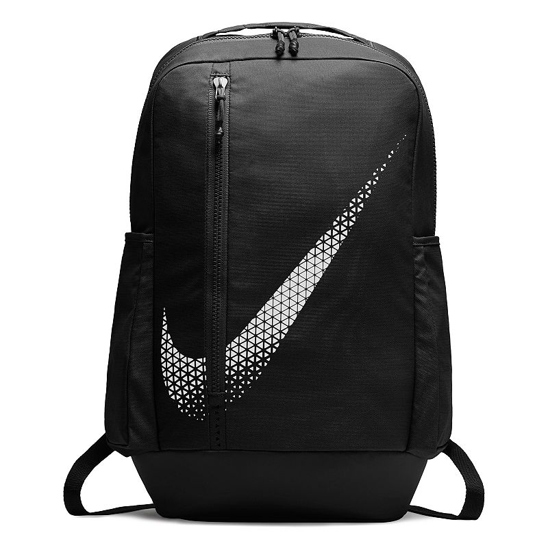 Nike Vapor Power 2.0, Black Built for the long haul, this Nike Vapor Power 2.0 backpack makes sure you power through your day. Durable exterior helps deflect the elements Padded internal sleeve provides safe laptop storage Shoe compartment separates your clean and dirty gear Interior pockets provide small item organization Padded straps and back panel for an ergonomic fit 20 H x 12.5 W x 6 D Weight: 1 lbs. Nylon, polyester Zipper closure Model no. BA5782 Size: One size. Color: Black.