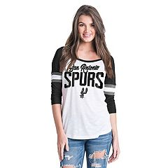 Women's San Antonio Spurs Slub Jersey Striped Tee
