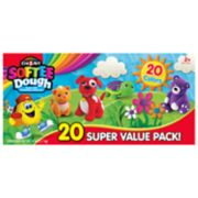 Cra-Z-Art Softee Dough Super Soft Modeling Compound Super Value 20-Pack