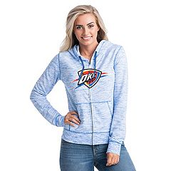 Women's Oklahoma City Thunder French Terry Space-Dyed Full-Zip Hoodie