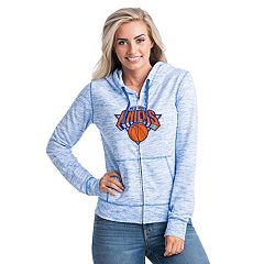 Women's New York Knicks French Terry Space-Dyed Full-Zip Hoodie