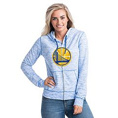 Women's Golden State Warriors French Terry Space-Dyed Full-Zip Hoodie