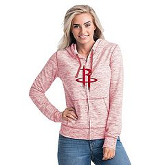 Women's Houston Rockets French Terry Space-Dyed Full-Zip Hoodie