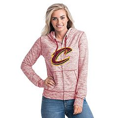 Women's Cleveland Cavaliers French Terry Space-Dyed Full-Zip Hoodie