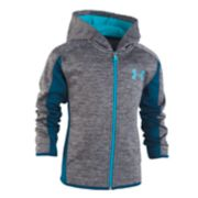 Toddler Boy Under Armour Marled Zip Hoodie