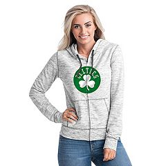 Women's Boston Celtics French Terry Space-Dyed Full-Zip Hoodie