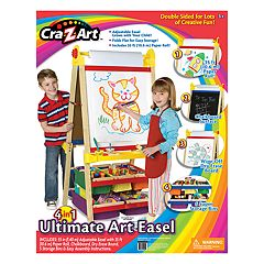 Cra-Z-Art 4-in-1 Double Sided Ultimate Wood Standing Art Easel