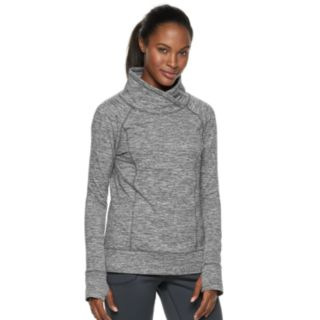 Women's ZeroXposur Luxe Space-Dye Funnel Neck Top
