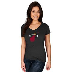 Women's Majestic Miami Heat Tee