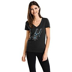 Women's Majestic San Antonio Spurs Timeless Tee