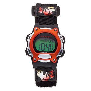 Sharp Kids' Digital Chronograph Watch - SHR3008KL
