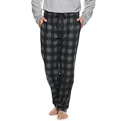Big & Tall Chaps Plaid Fleece Sleep Pants