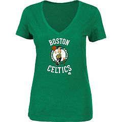 Women's Majestic Boston Celtics Main Tee