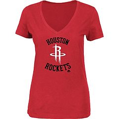 Women's Majestic Houston Rockets Main Tee