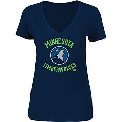 Women's Majestic Minnesota Timberwolves Main Tee