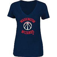 Women's Majestic Washington Wizards Main Tee
