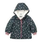 Girls 4-6x OshKosh B'gosh® Star Print Midweight Fleece-Lined Jacket