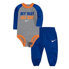 Baby Boy Nike 'My Way All Day' Bodysuit & Jogger Pants Set