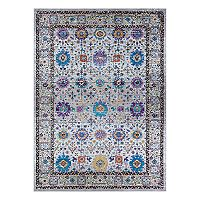 Couristan Gypsy Royale Framed Floral Rug