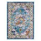 Couristan Gypsy Ely Framed Floral Rug