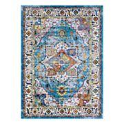 Couristan Gypsy Ely Framed Floral Rug