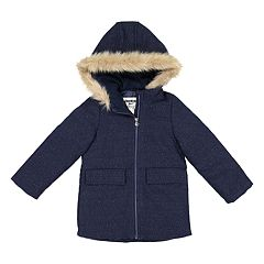Girls 4-6x OshKosh B'gosh® Faux-Wool Tweed Midweight Jacket