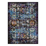 Couristan Gypsy Cologne Framed Floral Rug