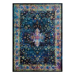 Couristan Gypsy Chartres Framed Floral Rug