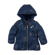 Girls 4-6x OshKosh B'gosh® Star Print Heavyweight Parka Jacket