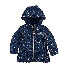 Girls 4-6x OshKosh B'gosh® Star Print Heavyweight Parka Jacket
