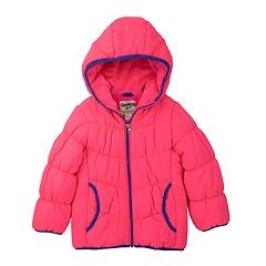 Girls 4-6x OshKosh B'gosh® Solid Heavyweight Puffer Jacket