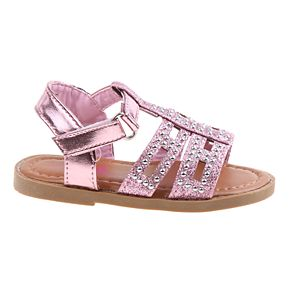 Rugged Bear Studded Toddler Girls' Sandals