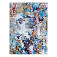 Couristan Gypsy Artist's Palette Abstract Rug