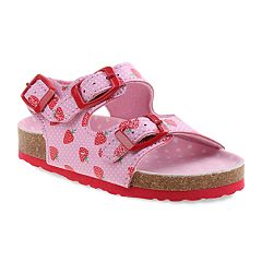Rugged Bear Strawberry Toddler Girls' Sandals